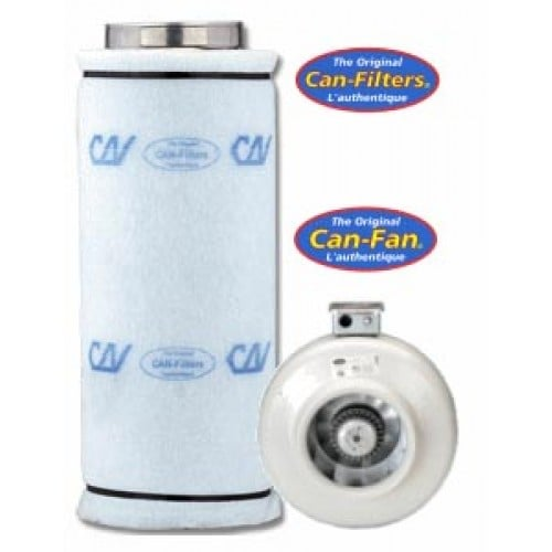 Can Fan 4 Quot And Carbon Filter 2600 Combo Amazing Hydroponic
