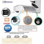T-TekHydro INNOVATIVE DE 1000W SYSTEM 3-MODE ADJUSTABLE REFLECTOR WITH DIMMABLE BALLAST-500×500