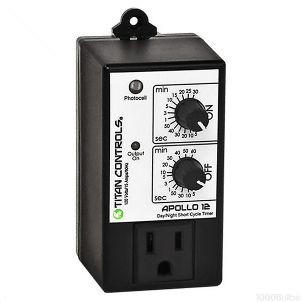 Titan Controls® Apollo® 12 – Short Cycle Timer With Photocell