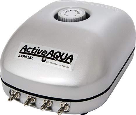 Active Aqua Air Pump, 4 Outlets, 6W, 15 Lmin