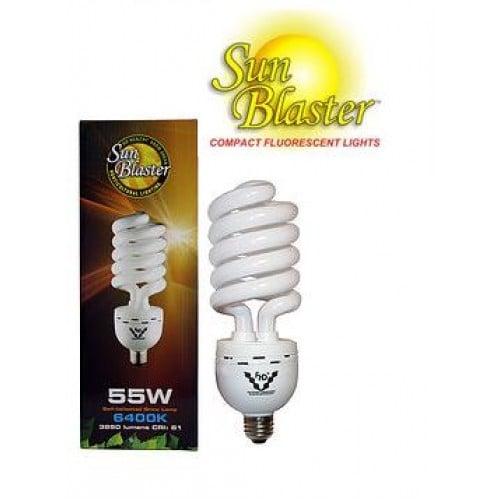 SunBlaster 55W 6400K CFL – Standard Lamp Socket