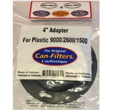 Can-Filter 4 in Plastic Flange 1500 2600 9000