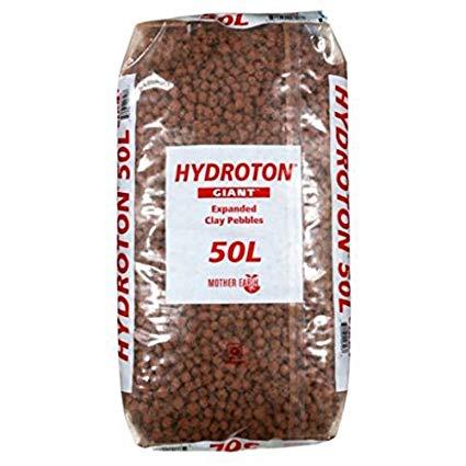 Hydroton 15-25MM 50L Bag CLAY PEBBLES